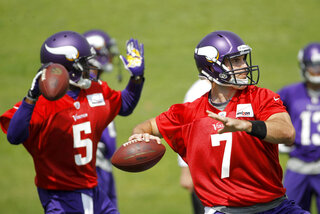 Christian Ponder, Teddy Bridgewater
