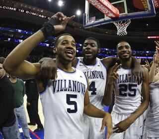 Phil Booth, Eric Paschall, Mikal Bridges