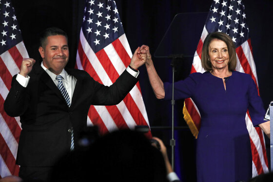 Nancy Pelosi, Ben Ray Lujan