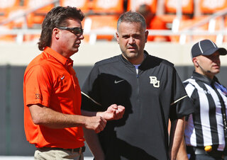 Mike Gundy, Matt Rhule