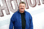 FILE - This Aug. 22, 2018 file photo shows Joe Diffie at the 12th annual ACM Honors in Nashville, Tenn. For the Oklahoma-born country singer, the 1990s were a heyday for country music and for Diffie, including hit blue-collar ballads and barroom singalong songs. Diffie died March 29 in Nashville. He was 61. (Photo by Al Wagner/Invision/AP, File)