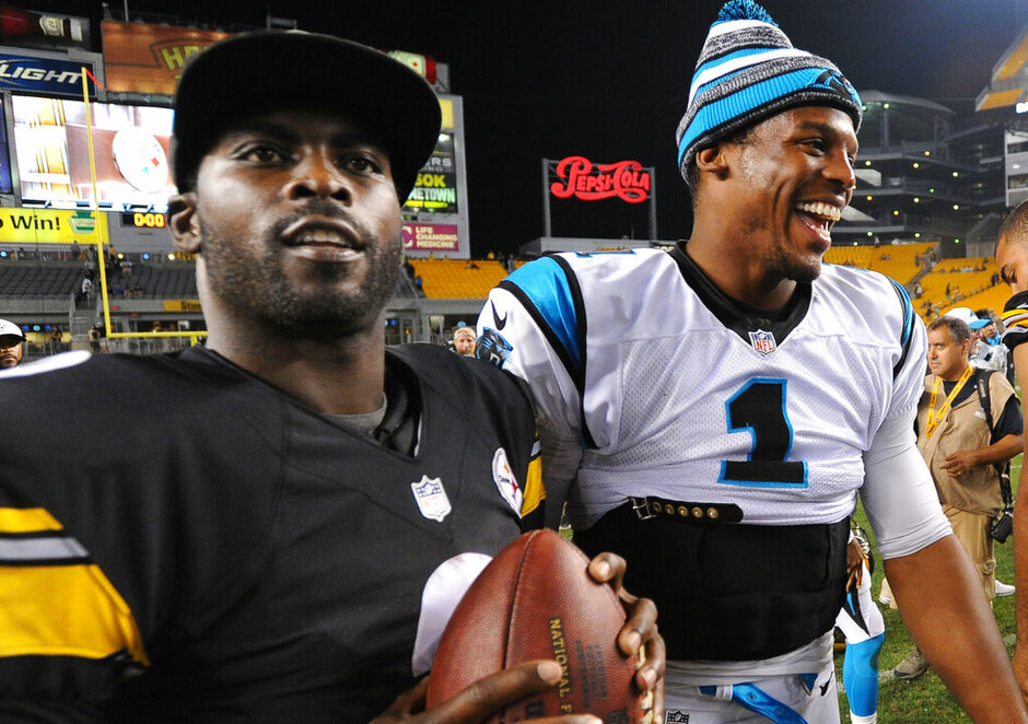 Mike Vick, Cam Newton