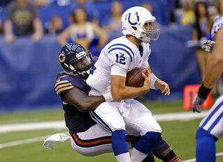Andrew Luck, Pernell McPhee
