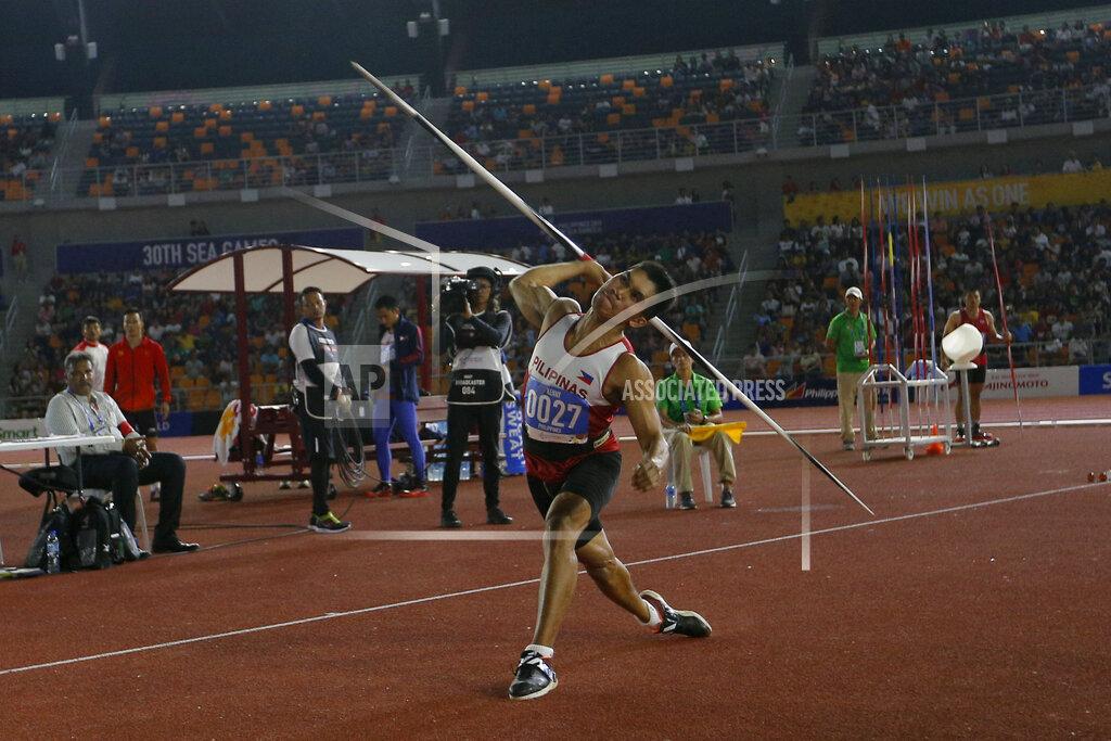 Philippines SEA Games Athletics