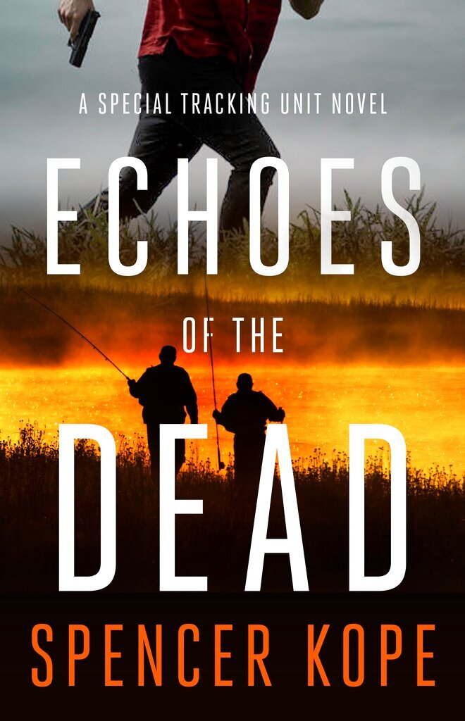 """This cover image released by Minotaur shows """"Echoes of the Dead"""" by Spencer Kope. (Minotaur via AP)"""