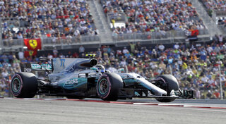 F1 US Grand Prix Auto Racing