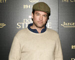 FILE - In this Nov. 1, 2016 file photo, Michael Weatherly attends a special screening of