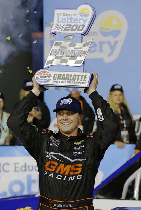 NASCAR Trucks Charlotte Auto Racing