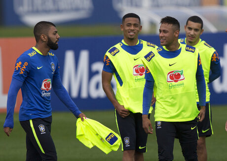 Neymar, Gabriel, Gabriel Jesus, William