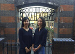 In this Feb. 27, 2019, photo, Seo Ji-hyun of South Korea, left, and Shiori Ito from Japan pose for a photo in Camden Town in London. The #MeToo movement in entertainment isn't just an American phenomenon. Cases across Asia show the region is grappling with many of the same issues that have upended entertainment careers in the U.S. Seo and Ito both spoke out about sexual assault and became representatives of the movement. (AP Photo/Tony Hicks)