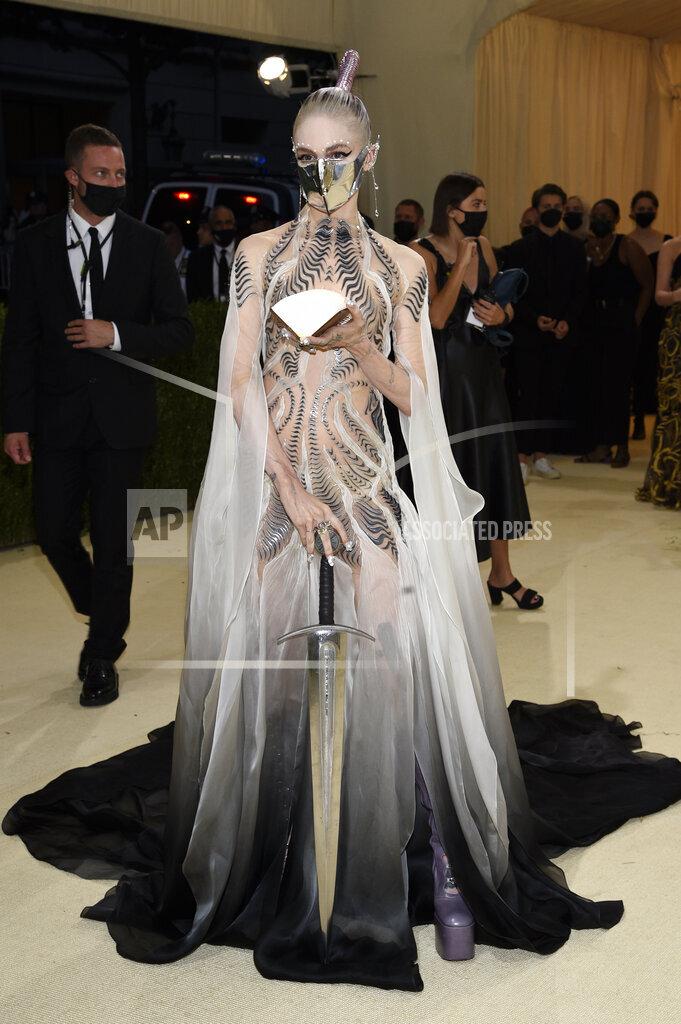 2021 MET Museum Costume Institute Benefit Gala