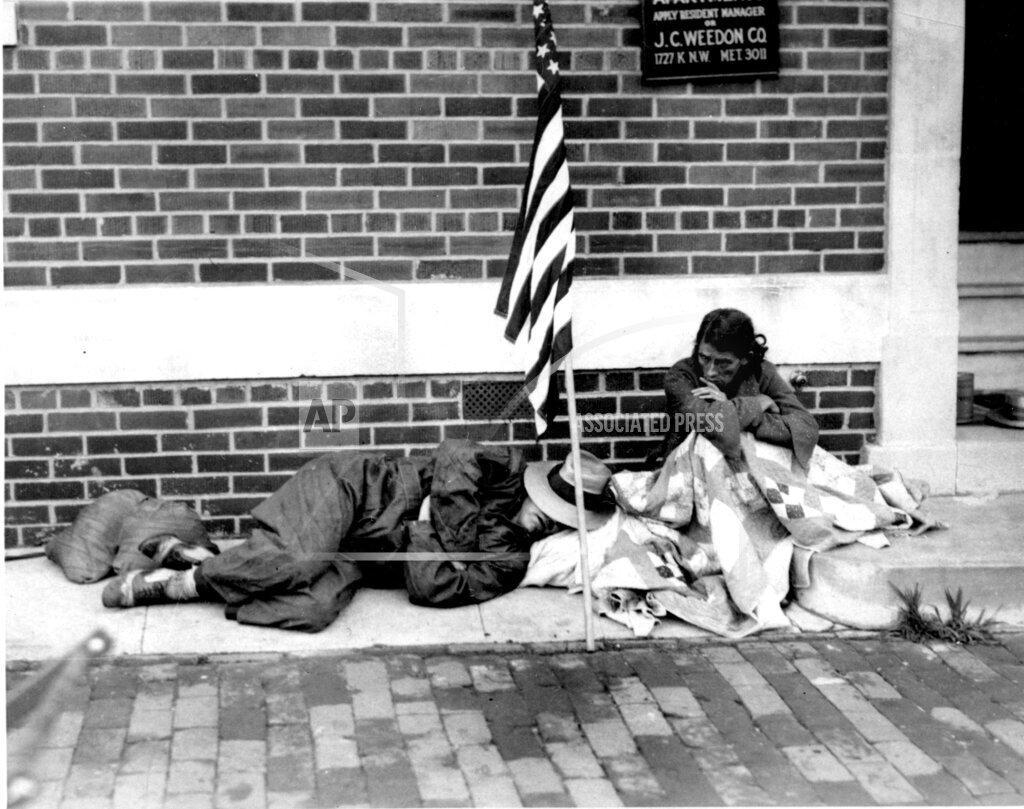 Associated Press Domestic News Dist. of Columbia United States HOMELESS WAR VETERAN