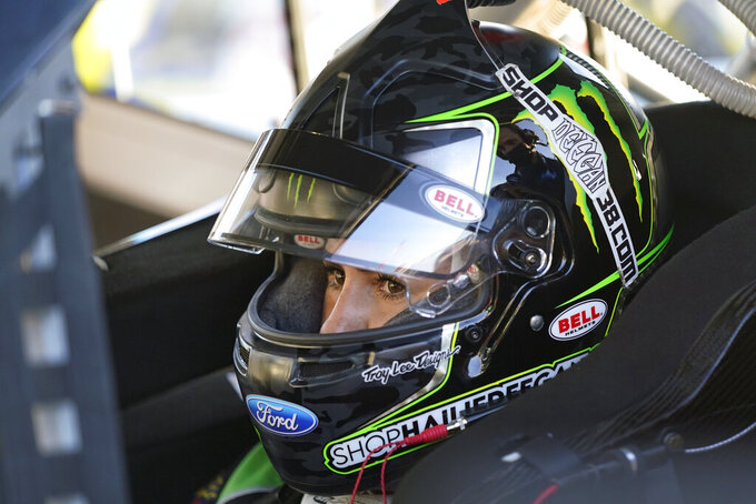 Deegan ready to move on from slur and shine in NASCAR