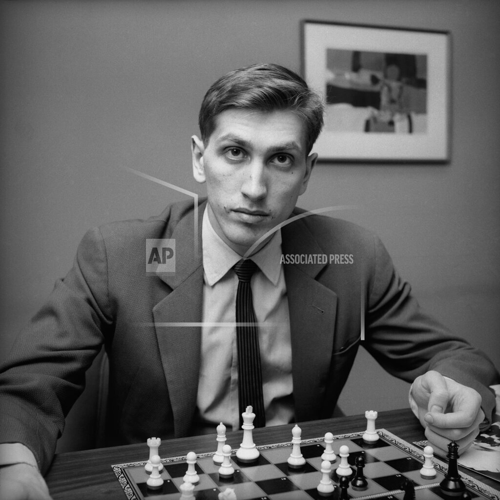 Watchf Associated Press Domestic News  New York United States APHS3860 Bobby Fischer 1962