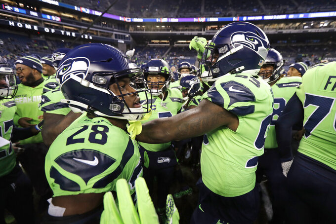 Seahawks head back on the road with a chance at perfection