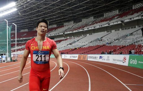 Indonesia Asian Games Athletics Glitches