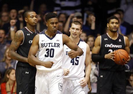 Cincinnati Butler Basketball