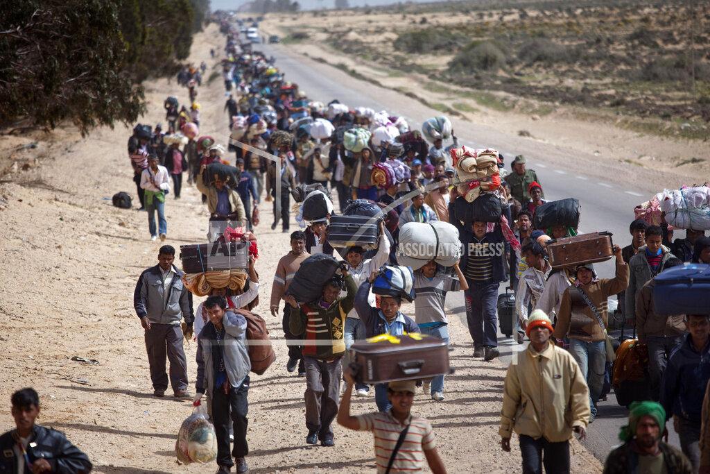 APTOPIX Mideast Tunisia Libya
