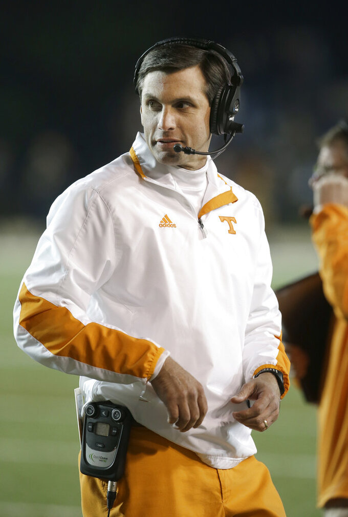 Missouri assistant Dooley grateful for Tennessee opportunity