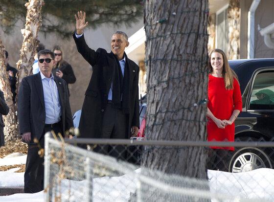 Barack Obama, Lisa Martin