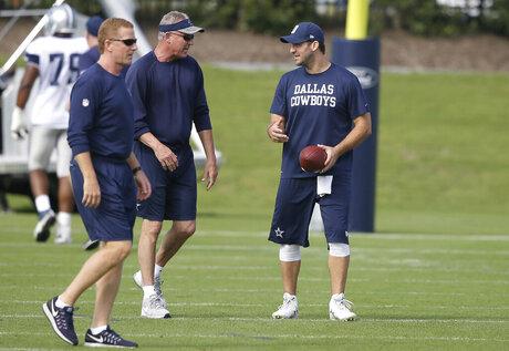 Tony Romo, Wade Wilson, Jason Garrett
