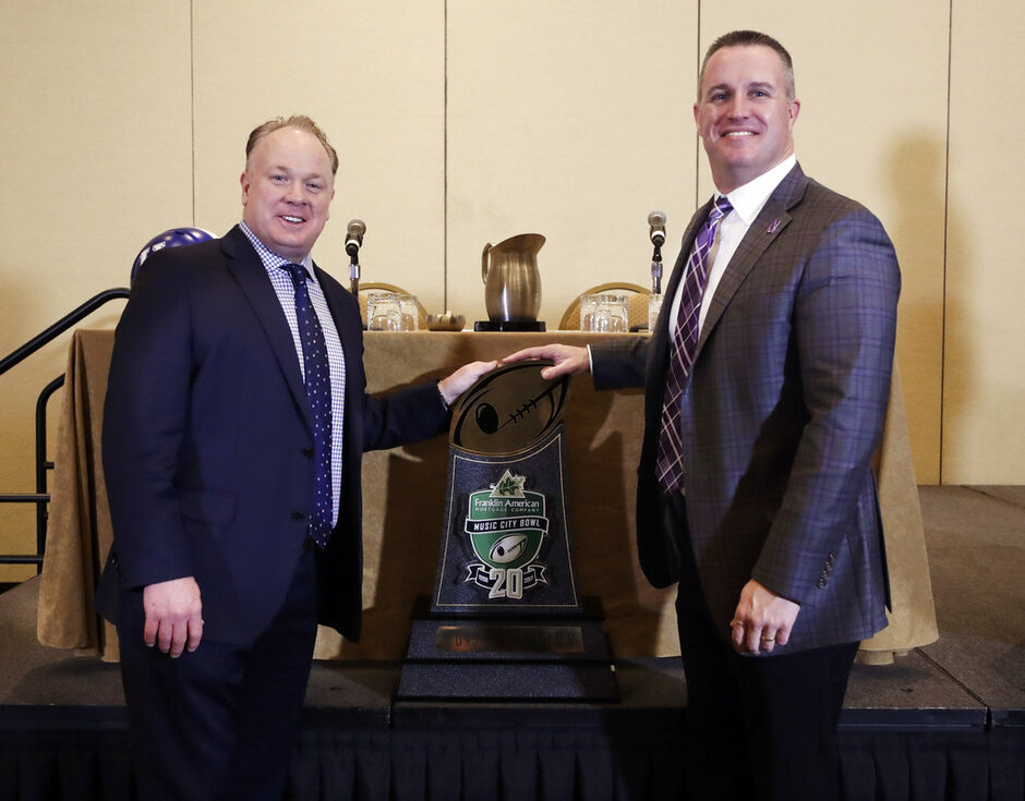 Mark Stoops, Pat Fitzgerald