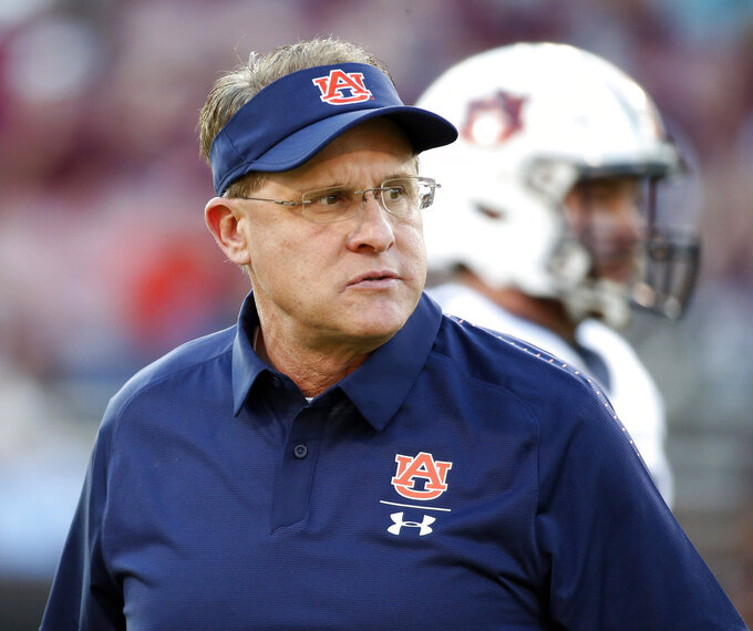 No 21 Auburn tries to rebound against Tennessee