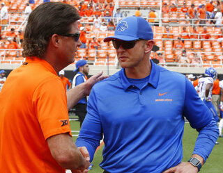 Mike Gundy, Bryan Harsin