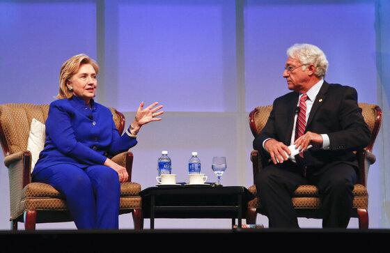 Hillary Clinton, Jim Greenwood