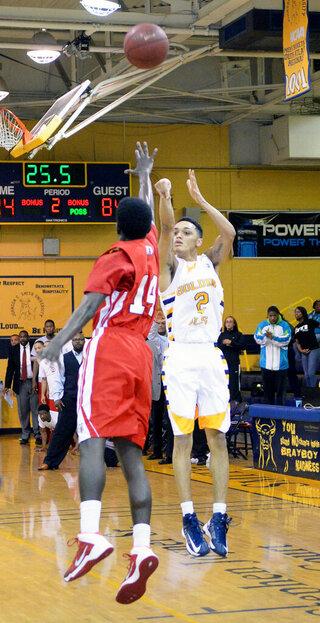 Winston Salem St Johnson C Smith Basketball