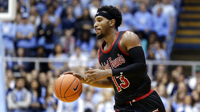St. Francis (PA) Red Flash at North Carolina Tar Heels 11/19/2018