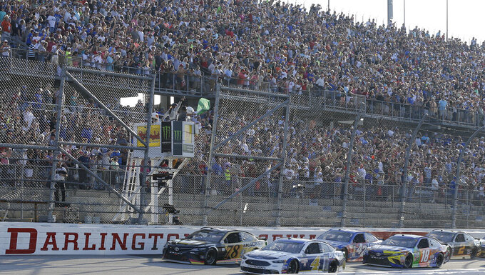 Column: NASCAR set for 'huge microscope' as racing returns