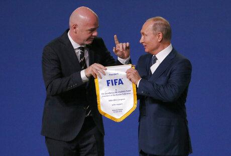 APTOPIX Russia Soccer WCup FIFA Congress