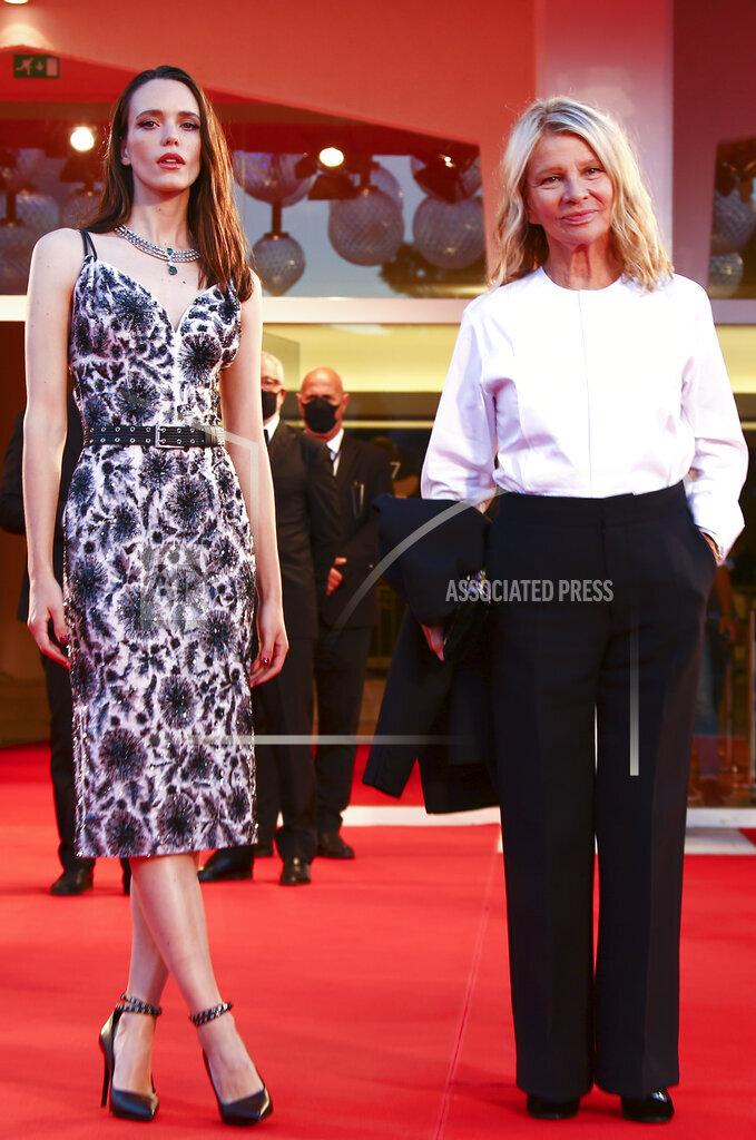 Italy Venice Film Festival 2020 Amants Red Carpet