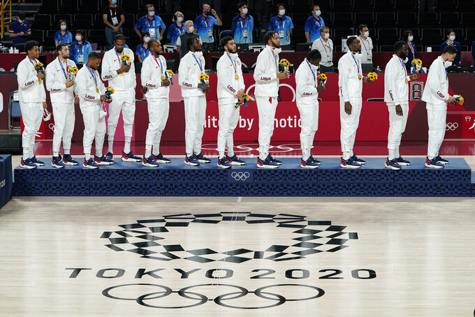 Olympic medal count still counts even amid pandemic Games