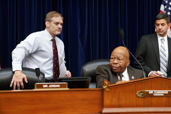 Jim Jordan, Elijah Cummings