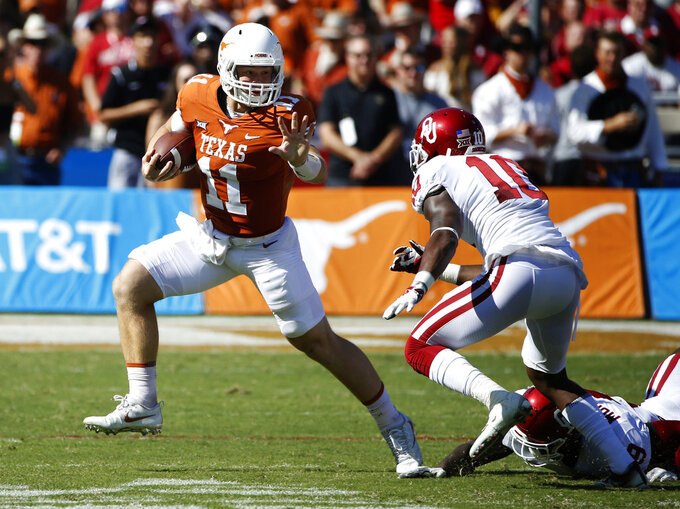 No. 23 Texas seeks revenge against Maryland team on mend