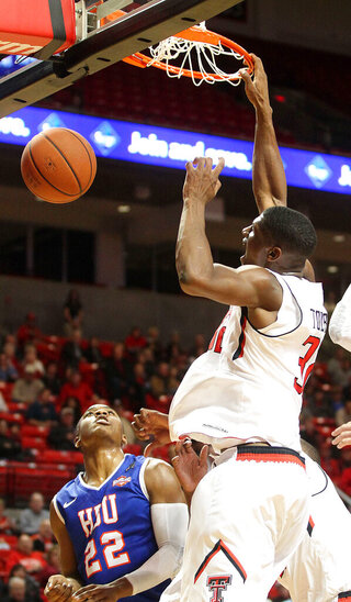 Texas Tech Houston Baptist basketball