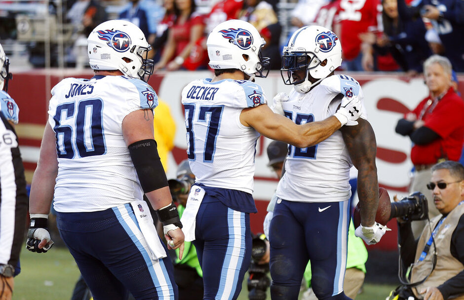 Delanie Walker, Eric Decker, Ben Jones