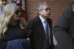Insys Therapeutics founder John Kapoor arrives for sentencing at federal court on Thursday, Jan. 23, 2020, in Boston. Kapoor was convicted in a bribery and kickback scheme that prosecutors said helped fuel the opioid crisis. He and others in the company were accused of paying millions of dollars in bribes to doctors across the nation to prescribe the company's highly addictive fentanyl spray, known as Subsys. (AP Photo/Charles Krupa)