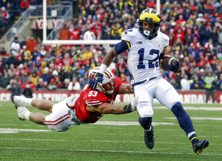 Michigan Evans Football