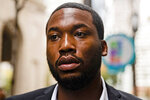 FILE – In this Nov. 6, 2017, file photo, rapper Meek Mill arrives at the Criminal Justice Center in Philadelphia. During a Monday, April 16, 2018, court hearing, Philadelphia prosecutors said Mill's drug and gun convictions should be thrown out and he should be granted a new trial, but Judge Genece Brinkley declined to rule and scheduled another hearing for June 2018. (AP Photo/Matt Rourke, File)