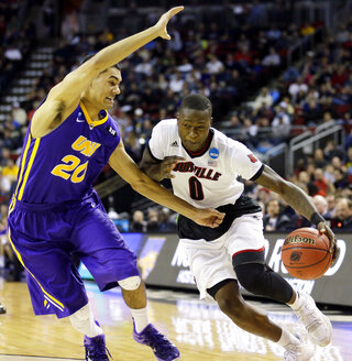 NCAA Northern Iowa Louisville Basketball