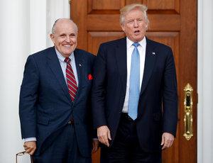 Donald Trump, Rudy Giuliani