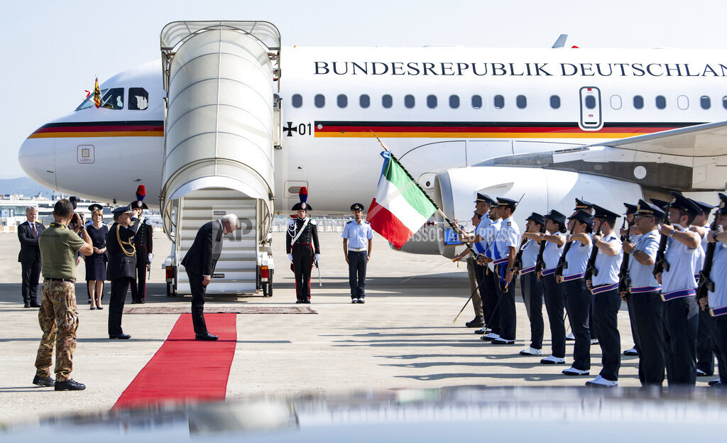 Federal President Steinmeier in memory of Fivizzano