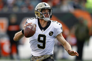 Saints Brees Accuracy Football