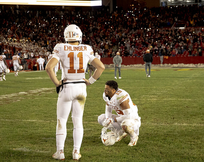 Texas went from Big 12 favorite to 4 losses again