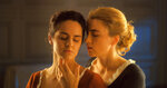 This image released by Neon shows Noémie Merlant, left, and Adèle Haenel in a scene from