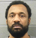 This 2015 photo provided by the Cook County Sheriff's Office shows Shomari Legghette. Legghette, with a long criminal history that includes a conviction for armed robbery, has been charged with first-degree murder in the fatal shooting of Chicago Police Cmdr. Paul Bauer, authorities announced Wednesday, Feb. 14, 2018. (Cook County Sheriff's Office via AP)