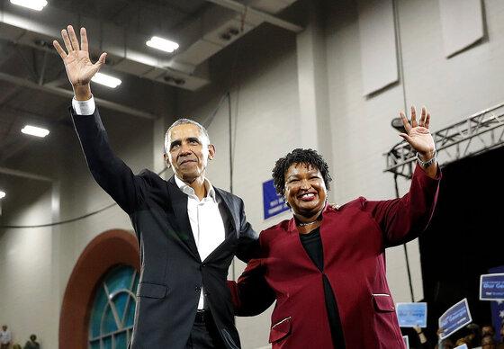 Barack Obama, Stacey abrams